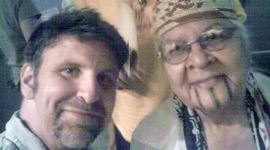Rav Dr Colbey Beurin Forman with Tribal Grandmother Agnes Proudfoot