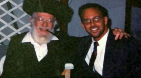 Rav Dr Colbey Forman with Chief Kabbalist Rav Greenberg