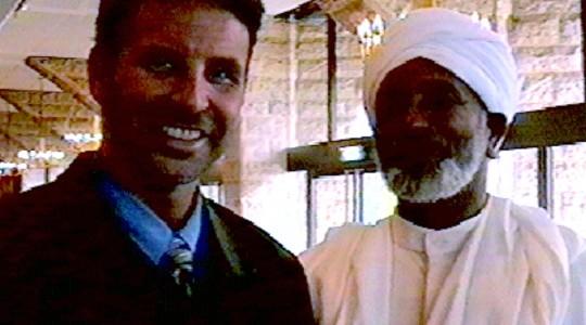 Rav Dr Colbey Forman with The Amazing Sheik Sakutta